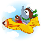 elephant-mouse-airplane-vector-illustration-eps-54990256