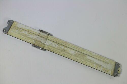 A photo of a vintage slide rule